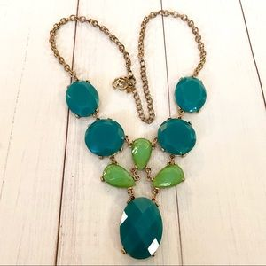 Beautiful colors of Green Necklace marked (EL)